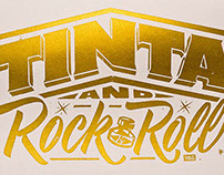TINTA and Rock & Roll - Silkscreen