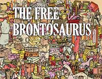 The Free Brontosaurus - Book Design