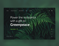 Greenpeace card concept