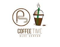 Coffee time illustration
