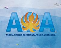Asociación de Oceanógrafo de Andalucía - Logo