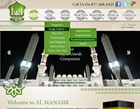 Al Manasik Website Design