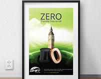 ZERO fees UK Ad Campaign