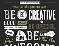 Typography - Poster Design
