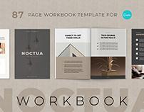 Noctua Workbook Template for Canva