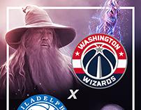 NBA - Wizards x 76ers