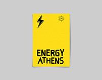 Energy Athens Exhibition Visual Identity 2019