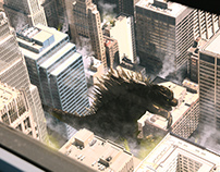 Godzilla at Chicago