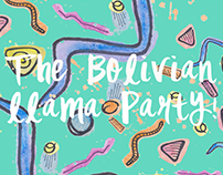 The Bolivian Llama Party Food Stand | Website