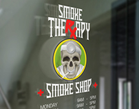 SMOKE THERXAPY SMOKE SHOP | LOGO DESIGN
