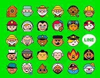 Line / 1.000 emojis!