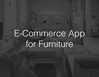 Furniture E-Commerce App Concept