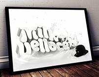 A Clockwork Orange // tribute // typography 3D