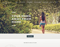 Vanilla Village - Website Design
