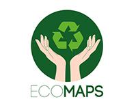 Desenvolvimento de Logotipo do Projeto Eco Maps