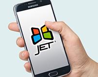 Diseño Logotipo App BB Jet