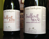 scalfaròtt - wine labels