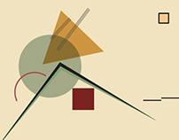 Vasily Kandinsky (motion graphic work)