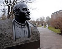 Missing Lenin? Muzeon Park of Arts: Soviet busts