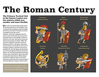 Layout & Vector Art: Roman Century: A Graphic Study
