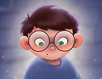 Happy Birthday, Harry   illustration