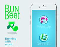 Run Beat-Run with music