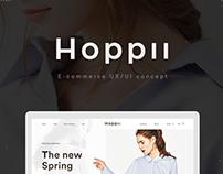 HOPPII Ecommerce UX/UI Concept