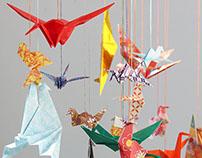 Origami Bird Tree