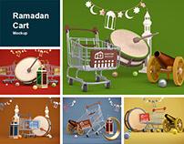 Ramadan Cart Mockup