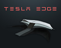 Tesla Edge UI Concept - Model 3