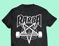 Camisetas: O Barba Hamburgueria