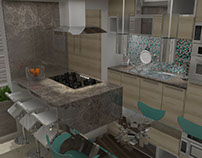 07/2015 Diseño Interior Cocina/Interior Design Kitchen
