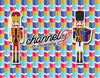 ChannelG 11th Anniversary Sticker Design