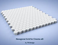 Free Hexagonal Grid for Cinema 4D