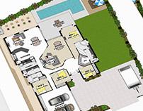 Real Estate Floor Plan Sunshine Coast