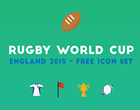 Rugby World Cup 2015: Free Icon Set