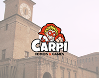Carpi Comics & Games | Logo project