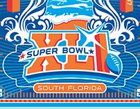 NFL Super Bowl Graphic