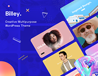 Billey - Creative Portfolio & Agency Template