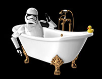 Star Wars Bathroom Series