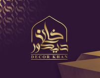 Decor Khan - Logo & Brand Identity.