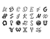 Alphabet Lettering Collection Vol.2