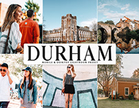 Free Durham Mobile & Desktop Lightroom Preset