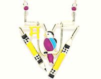 Masaba for anouk ( Jewellery Design )