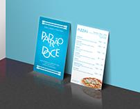 Padrão Doce Bakery Business Card