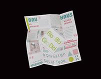 ITC Bauhaus Type Specimen