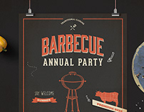 BBQ Event Flyer/Poster
