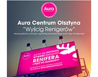 "Aura Centrum Olsztyna ""Reindeer race"""