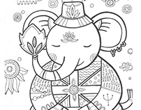 "Coloring pages ""Elephant"""