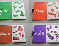 Die Farbenwelt - Das kleine Lernbuch